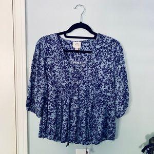 Knox Rose Blue Blouse